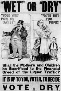 Pro-Prohibition Poster