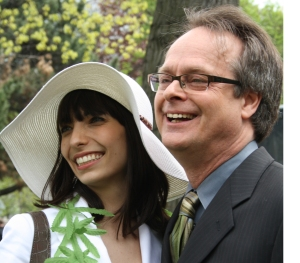Marc Emery and Jodie Emery