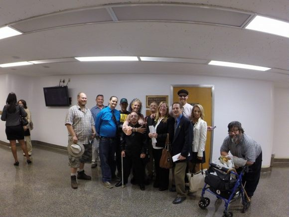 Jeff Patterson & The Patients Against SB1262. Great Job!