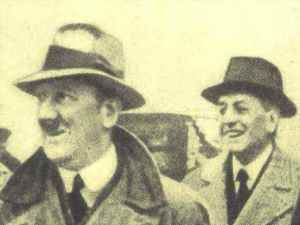 Thyssen with Hitler