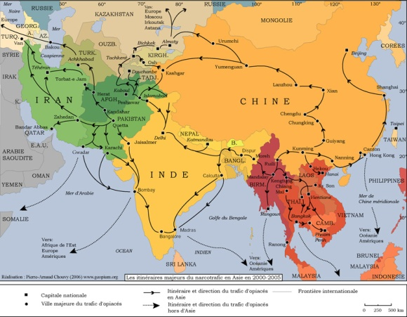Opium Traffic in Asia