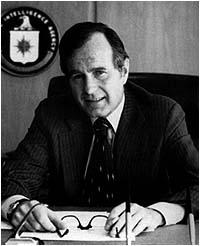 Photo of Bush at CIA