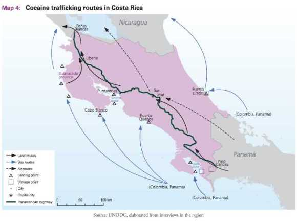 Costa Rica Narco Routes