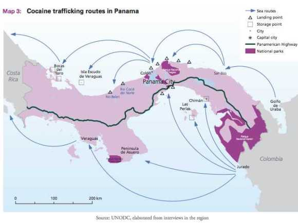 Panama Narco Routes