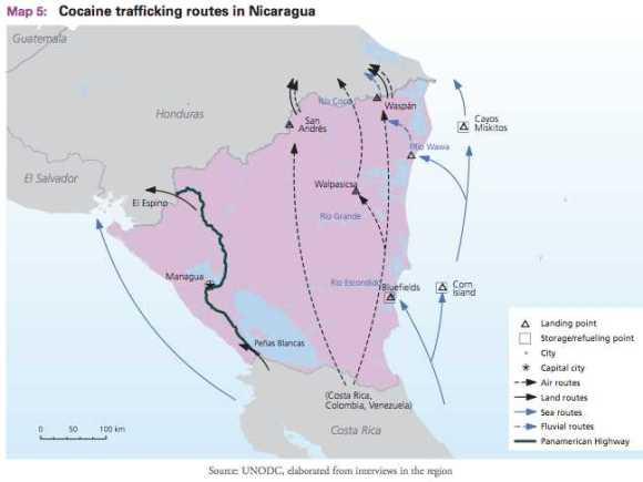 Honduras Narco Routes