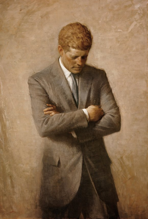 Presidential Portrait of JFK