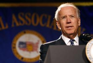 Joe Biden speaking at the National Association of Police Associations