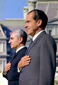 Nixon w/Shah of Iran