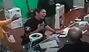 Female Officer Who Threatened Patients