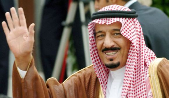 Terrorist-In-Chief and Consortium Top Dog King Salman